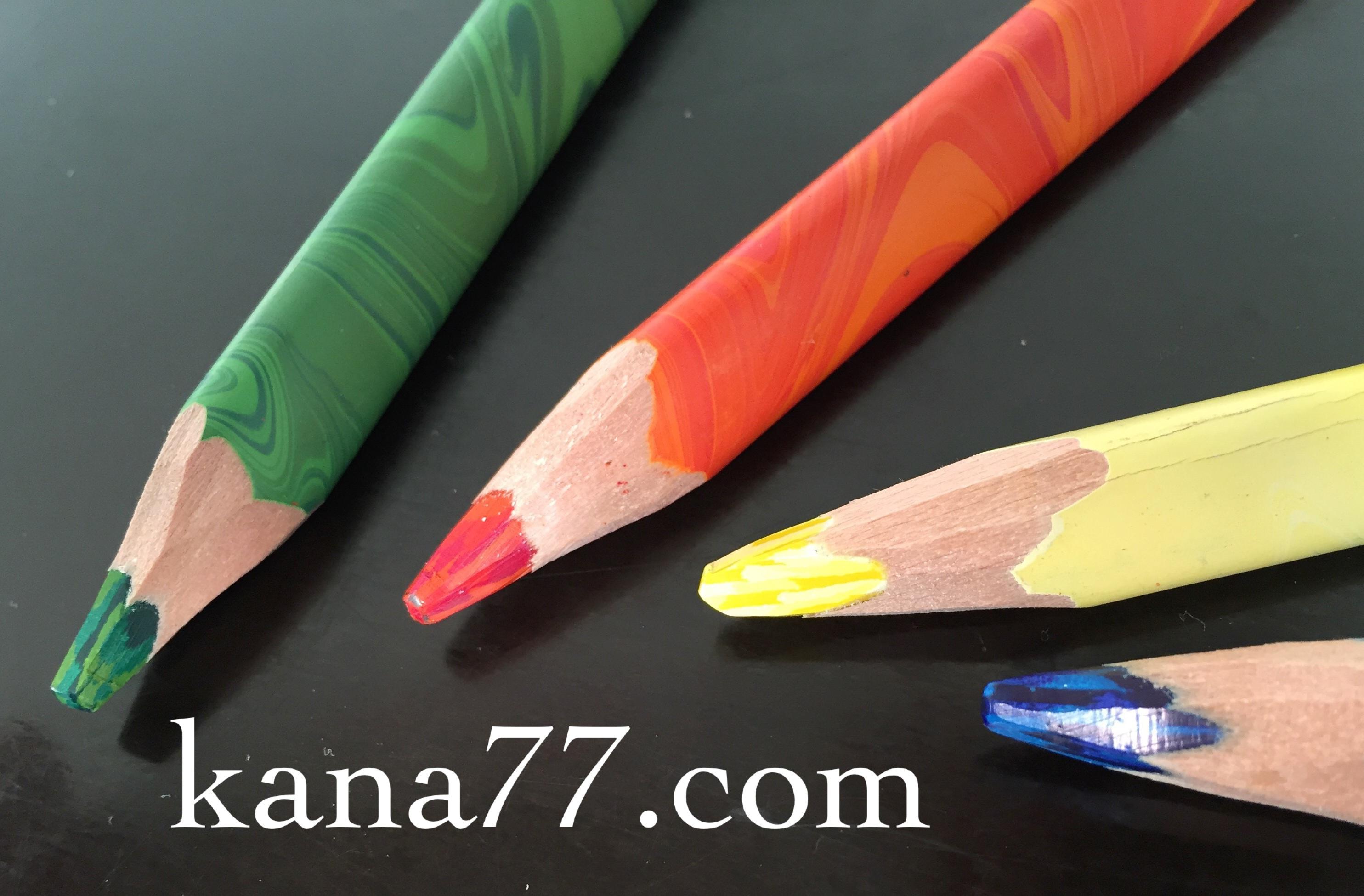 塗り絵、コロリアージュと色鉛筆