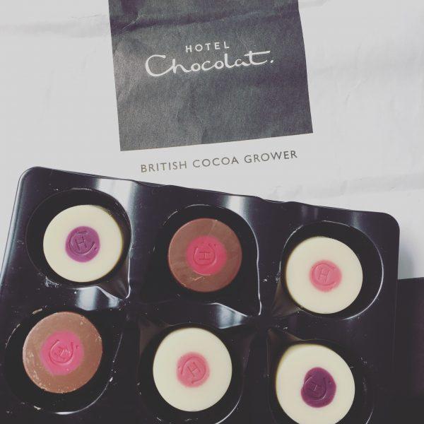 イギリスのチョコレートで癒される