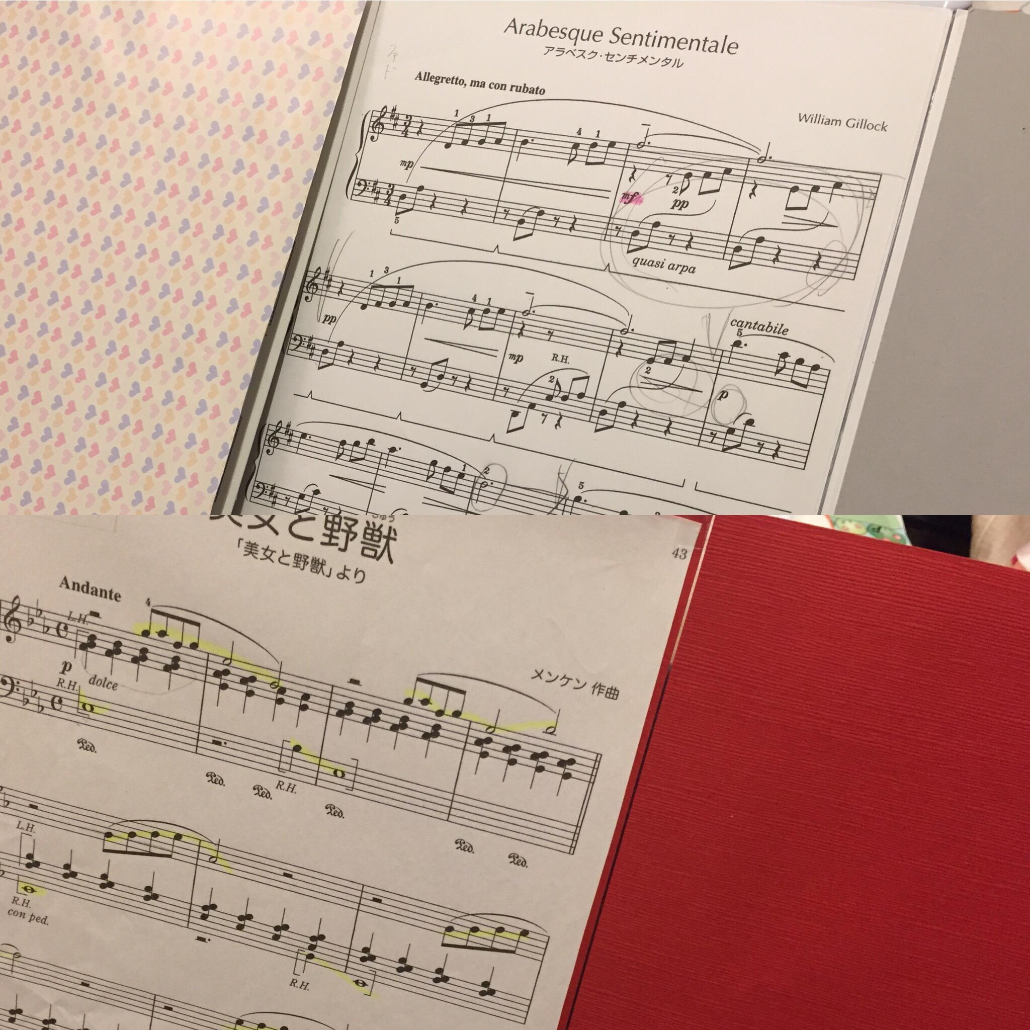 楽譜は大切に、製本しましょう